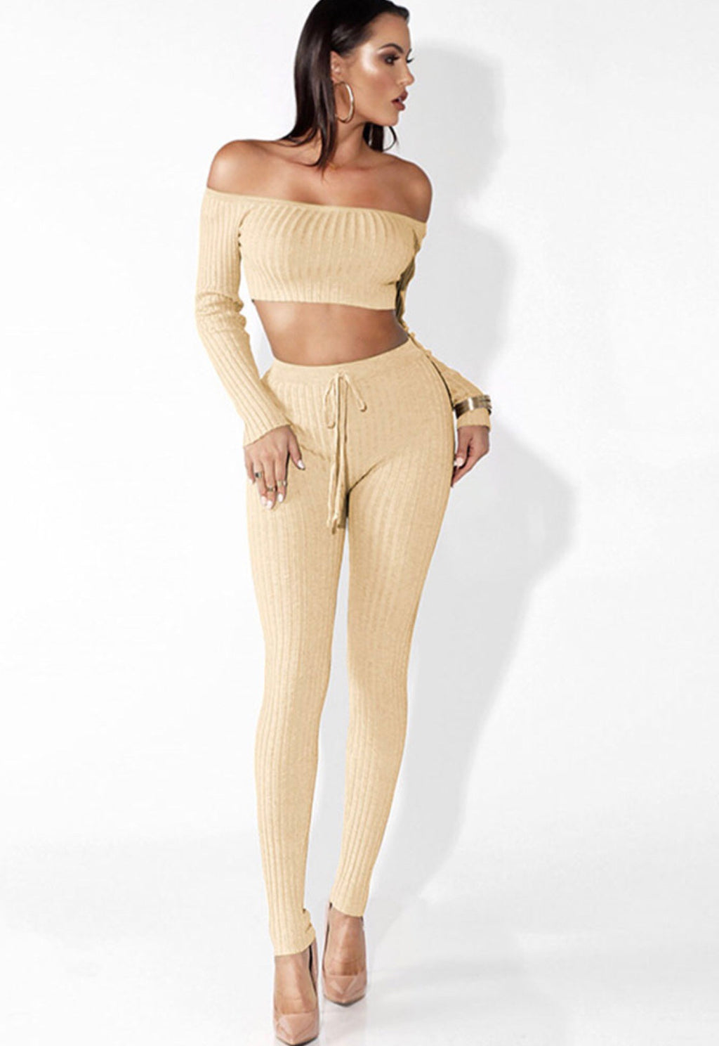 Two Piece Jumpsuit - The Divaz Closet