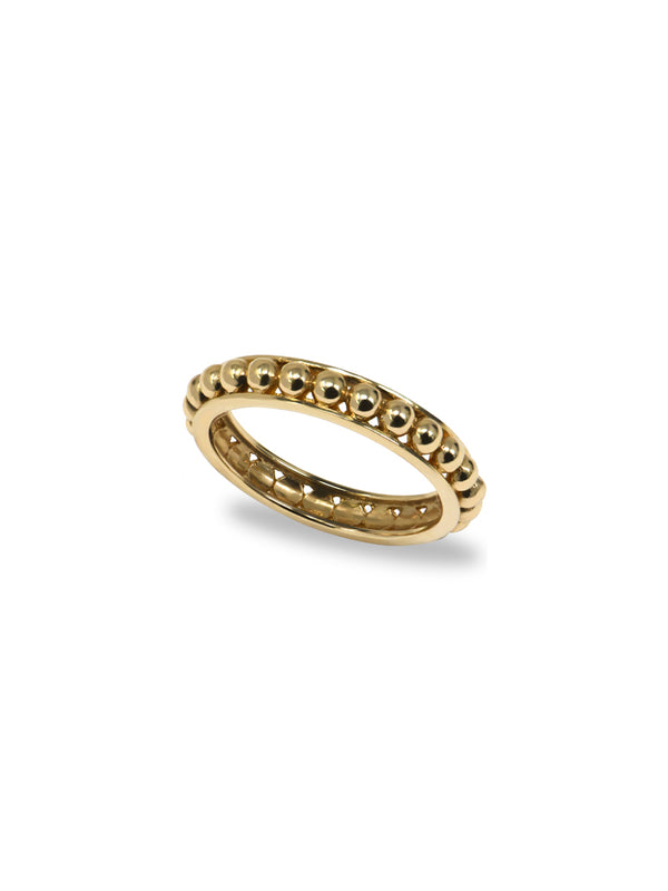 Strata Dotted Band Ring