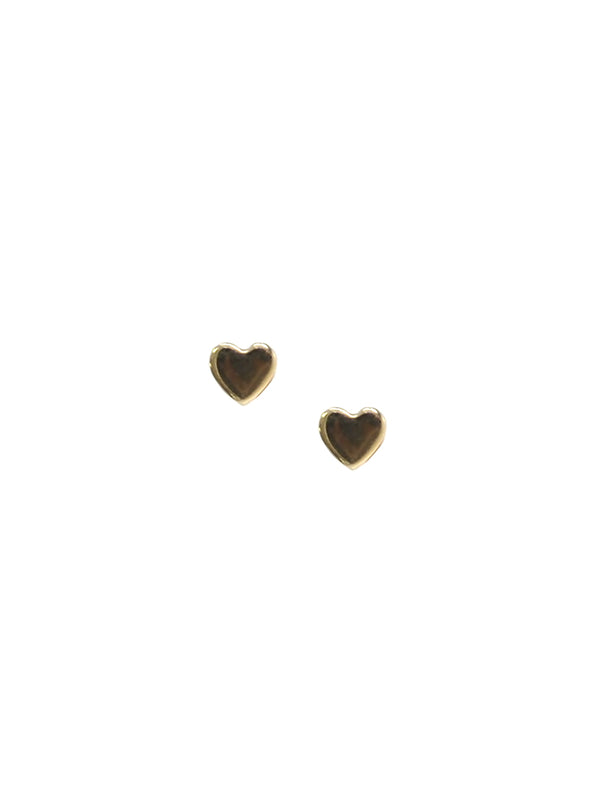 Icon Heart Studs - Gold
