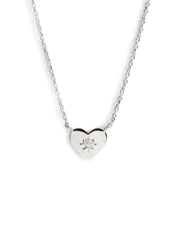 Icon Vintage Star Heart Pendant