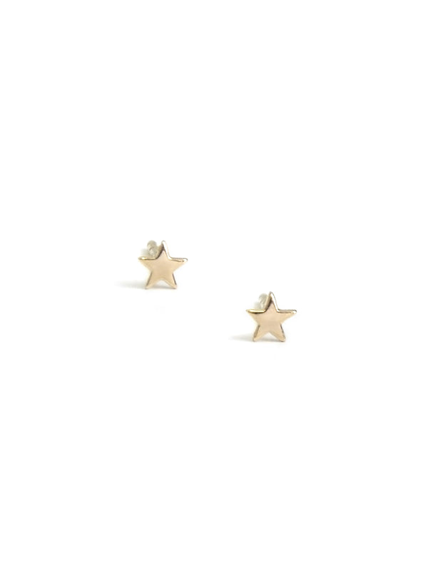 Icon Star Studs - Gold