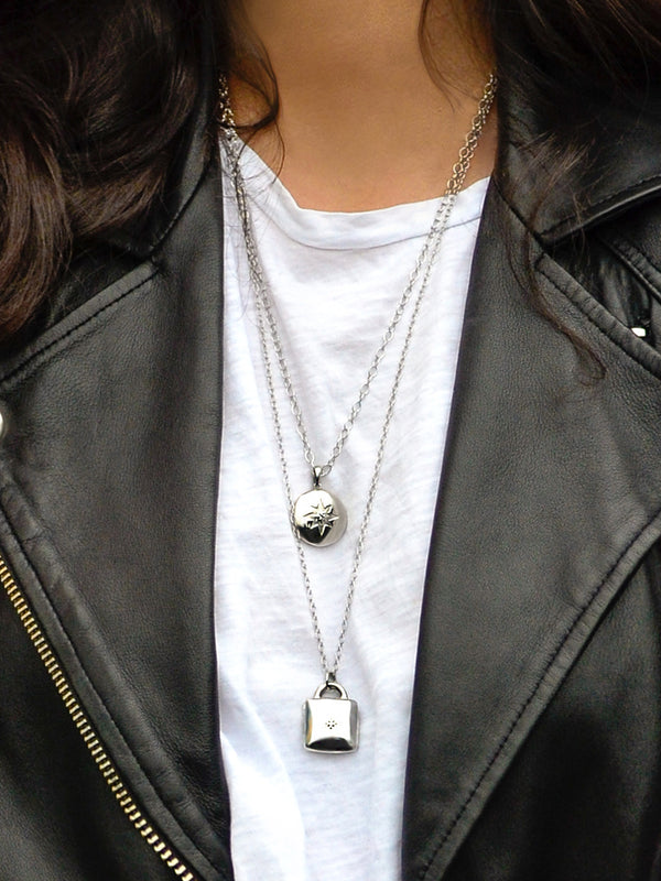 Icon Padlock Locket