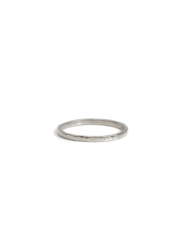 Strata Hammered Band Ring