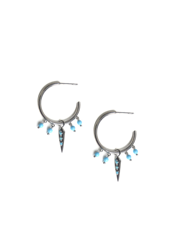 Dagger Pointed Shaker Hoops