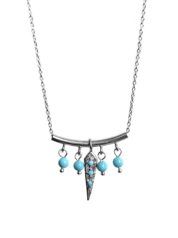 Dagger Pointed Bar Necklace