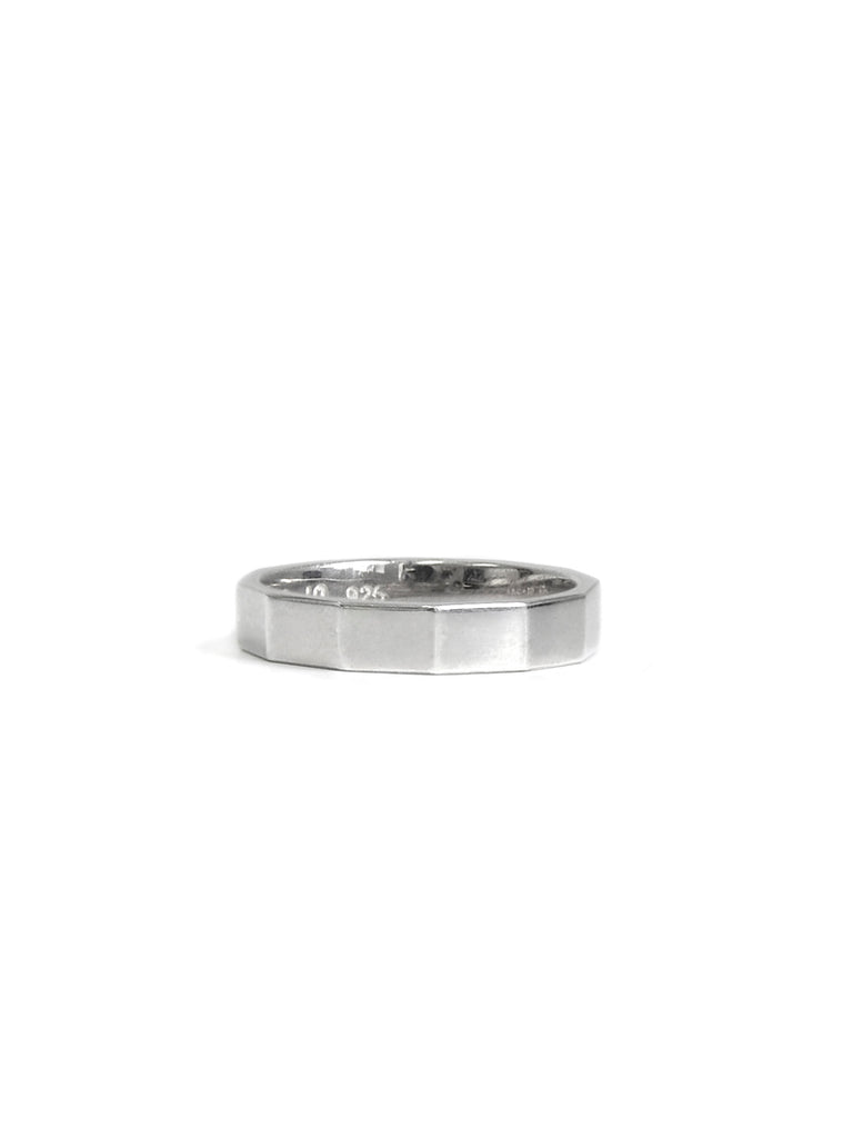 Strata Faceted Ring