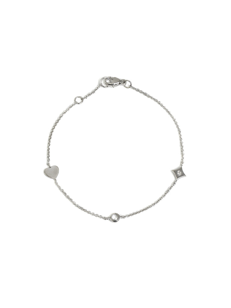 Icon Heart Station Bracelet