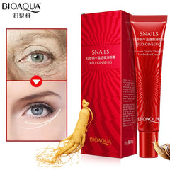 BIOAQUA Anti Wrinkle Anti Aging Eye Cream Ageless Effectively Remove Dark Circles Puffiness Repair Eye Lifting Moisturizer Cream