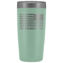 Load image into Gallery viewer, Freedom Works Flags Tumbler