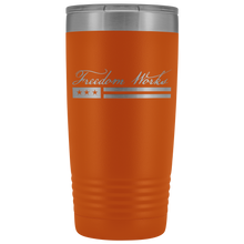 Load image into Gallery viewer, Freedom Works Logo Tumbler