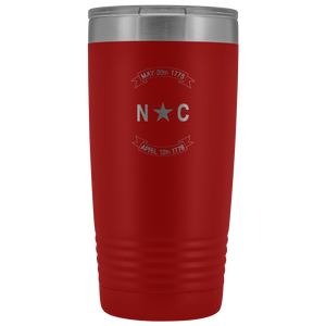 North Carolina Scroll Tumbler