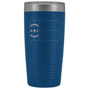 North Carolina Flag Tumbler