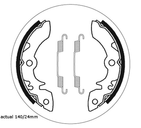 Brake Shoes SBS Suzuki