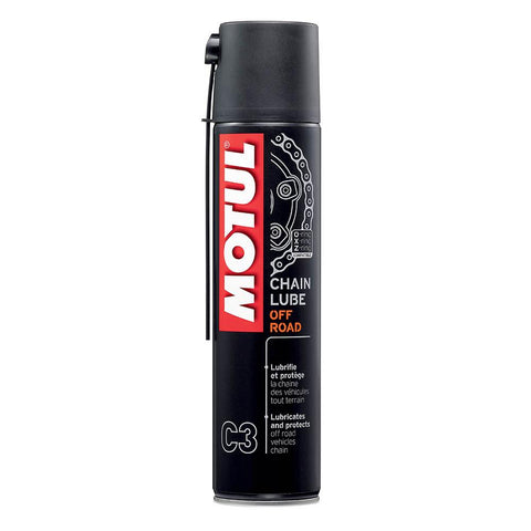 Motul Chain Lube Off Road 400ml spray.