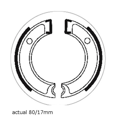 Brake Shoes SBS 2112 Yamaha