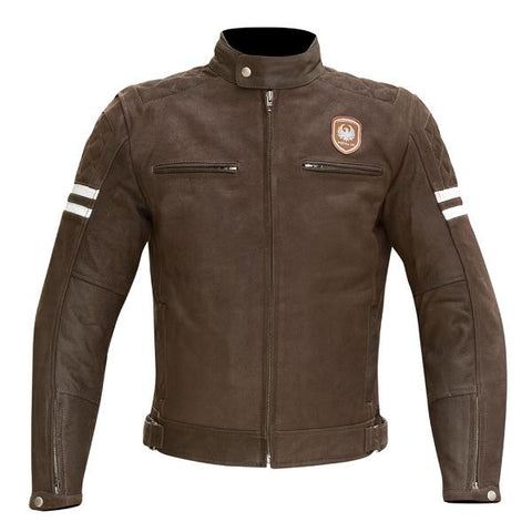 Merlin Hixon Brown Leather Jacket