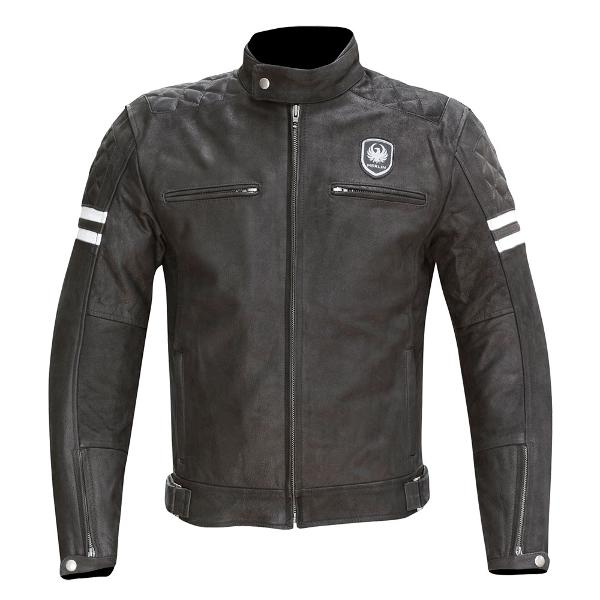 Merlin Hixon Black Leather Jacket