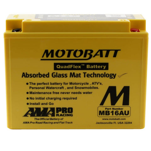 Motobatt MB16AU 12V Battery