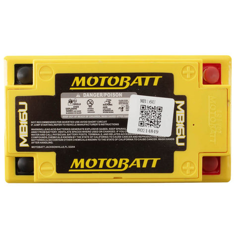 Motobatt MB16U 12V Battery