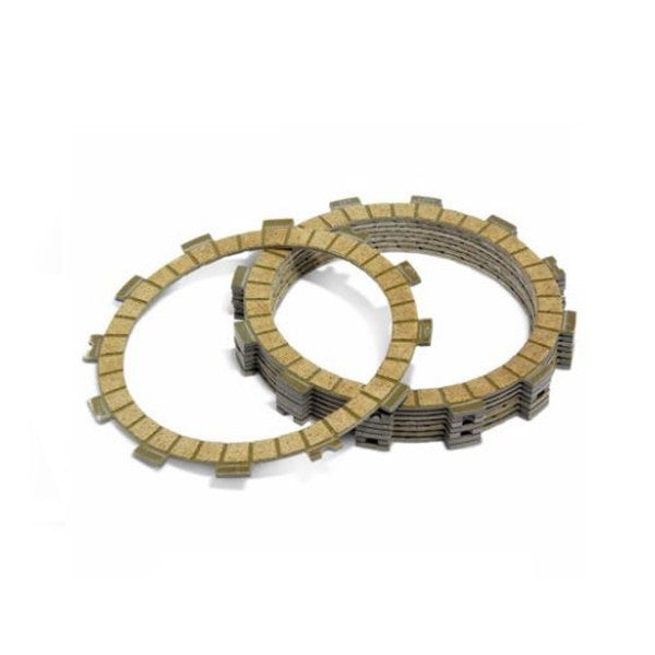 Clutch Friction (fibre) plate set YZ 250 88-90