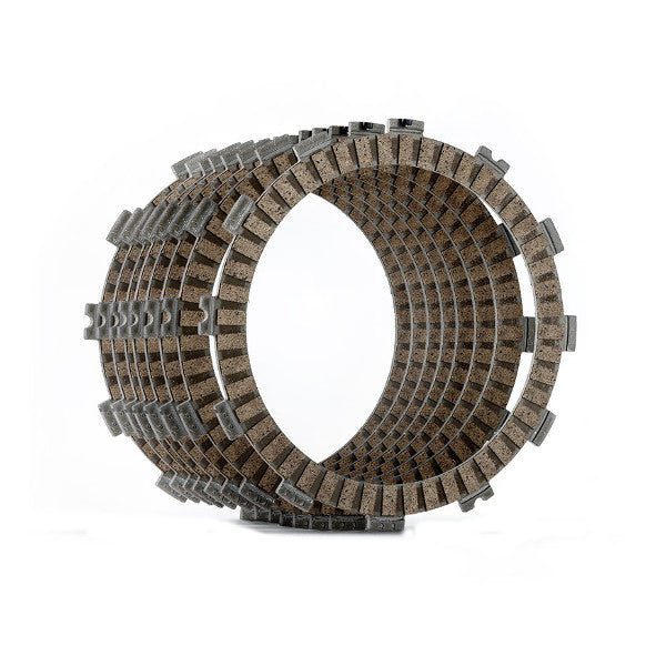 Clutch Friction (fibre) plate set 450 EXC-R/Berg