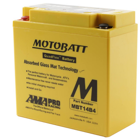 Motobatt MBT14B4 12V Battery