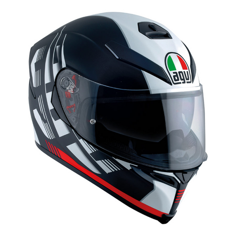 K-5 S Darkstorm Matt Black/Red Helmet