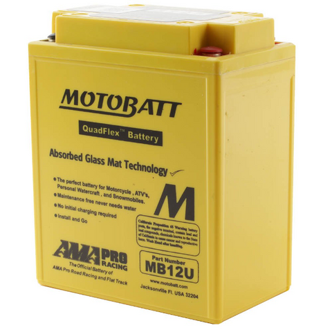 Motobatt MB12U 12V Battery