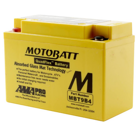 Motobatt MBT9B4 12V Battery