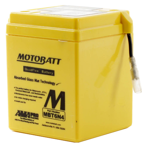 Motobatt MBT6N4 6V Battery