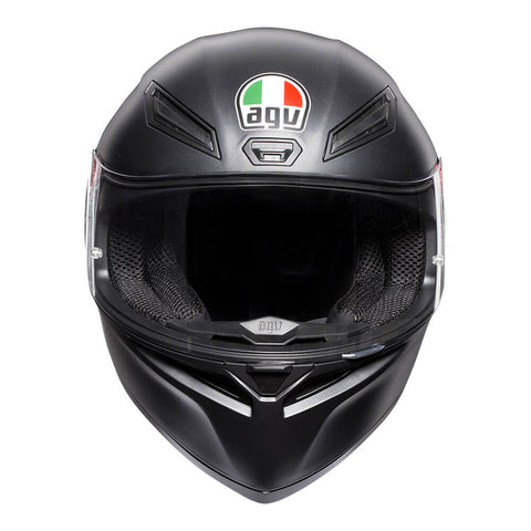 K-1 Matt Black Helmet