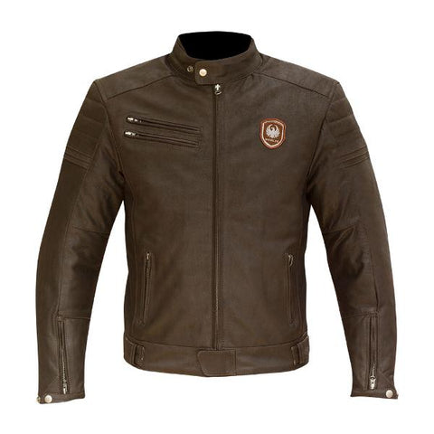 Merlin Alton Brown Leather Jacket