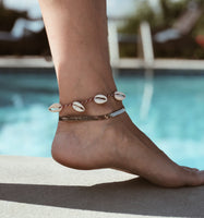 *Made to Order * CrushClub93 Shell Anklet