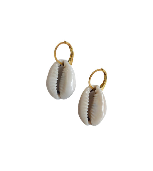 *Made to Order* CrushClub93 signature drop shell earrings