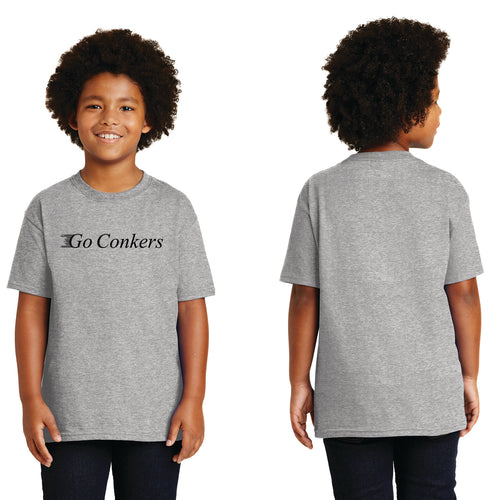 Youth S/S T-Shirt / Go Conkers on Front