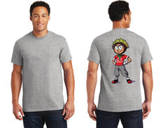 Short Sleeve T-Shirt - Caricature on Back