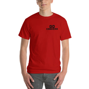 Short Sleeve T-Shirt - Go Conkers on Front / Conkers Definition on Back