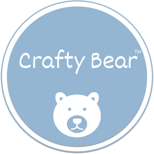 Crafty Bear Hair bow & Fabric supplies logo