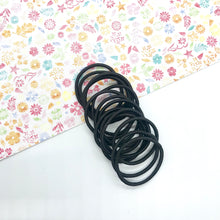 Load image into Gallery viewer, 3cm Black Elastic Bobbles - Crafty Bear Craft Supplies & Glitter Fabric