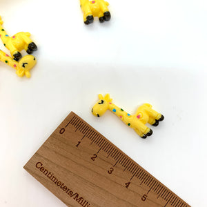 Yellow Giraffe Embellishment