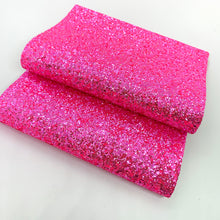 Load image into Gallery viewer, Hot Pink Crystal Chunky Glitter