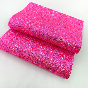 Hot Pink Crystal Chunky Glitter