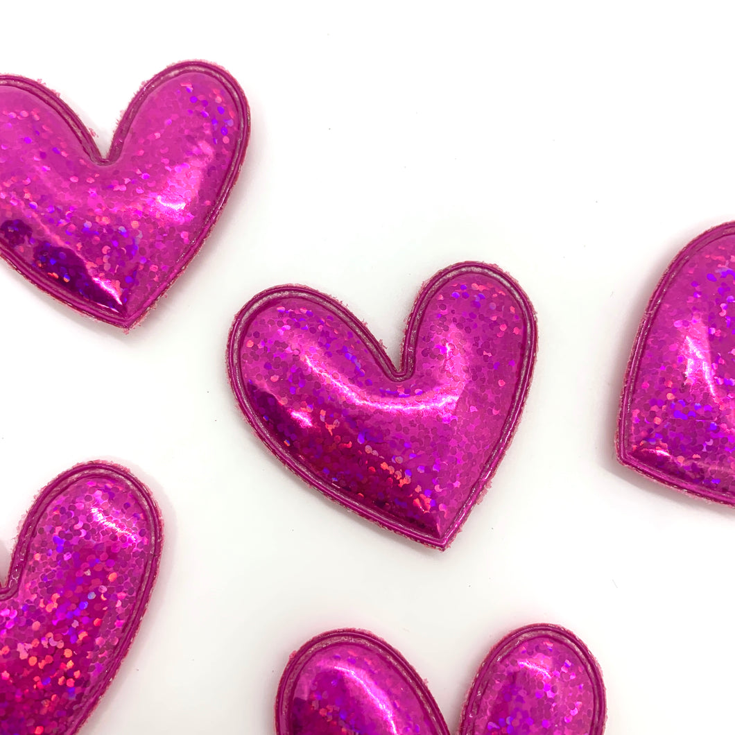 Metallic Pink Heart