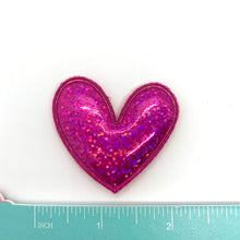 Load image into Gallery viewer, Metallic Pink Heart