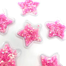Load image into Gallery viewer, Shaker Star Pink - Crafty Bear Craft Supplies & Glitter Fabric