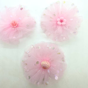Blue Pearl Shimmer Leatherette