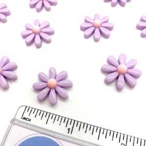 Lilac Daisy Embellishment - Crafty Bear Craft Supplies & Glitter Fabric