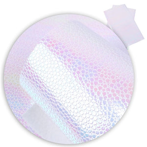 White Mermaid Leatherette - Crafty Bear Craft Supplies & Glitter Fabric
