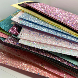 Glitter Fabric Scrap Pack 200g - Crafty Bear Craft Supplies & Glitter Fabric