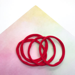 Nylon Headband Red - Crafty Bear Craft Supplies & Glitter Fabric